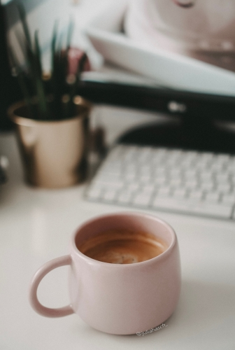 That cup of coffee in the morning