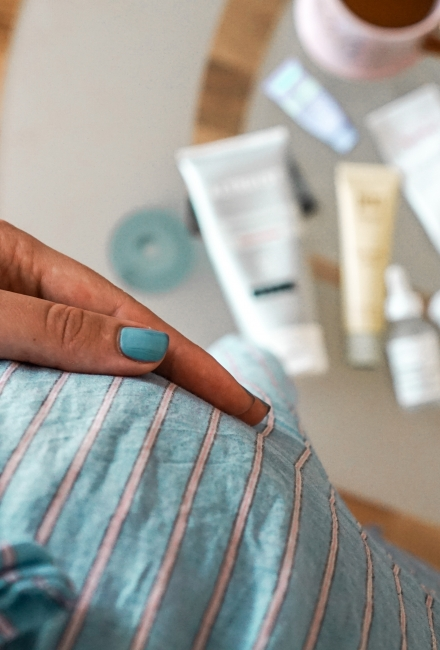 Produsele de skincare pe care le-am folosit în sarcină