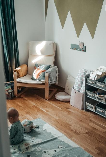 Cum i-am organizat & decorat camera celui mic 0+